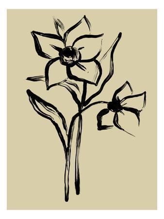 Inkwash Floral II