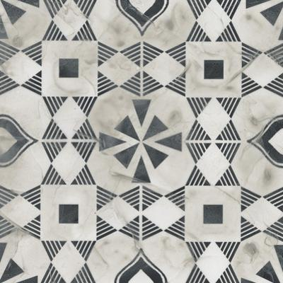 Neutral Tile Collection V by June Vess
