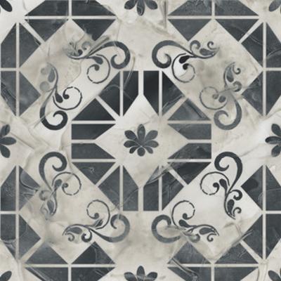 Neutral Tile Collection VI by June Vess