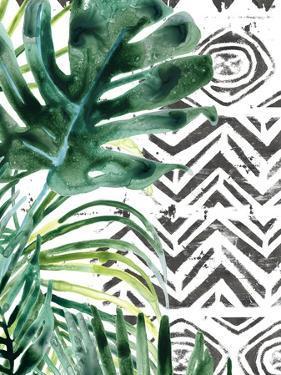 Palm Pattern II by June Vess