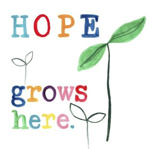 Rainbow Hope III by June Vess