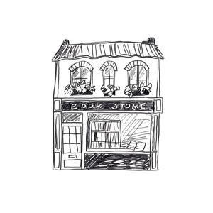 Shopfront Sketches I by June Vess