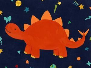 Starry Dinos VI by June Vess