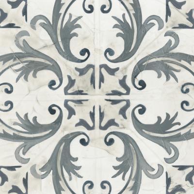 Teal Tile Collection I by June Vess