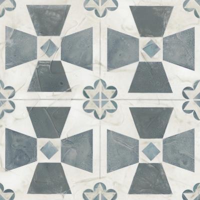 Teal Tile Collection IV by June Vess