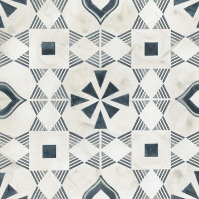 Teal Tile Collection V by June Vess