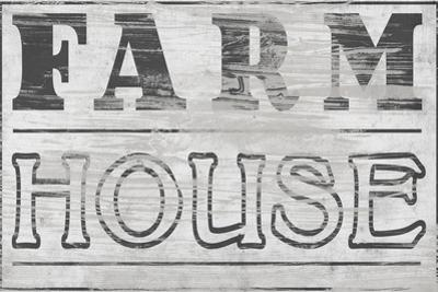 Vintage Farmhouse Sign I by June Vess