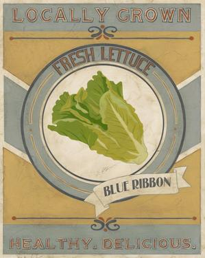 Vintage Produce Sign IV by June Vess