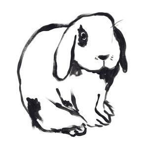 Winter Rabbit III by June Vess