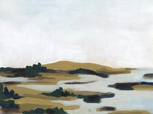 Wooded Inlet I by June Vess