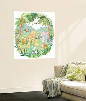 Jungle Boogie Huge Mural Art Print Poster