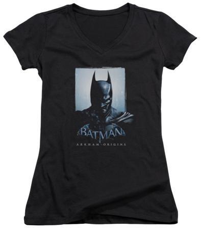 Juniors: Batman Arkham Origins - Two Sides V-Neck