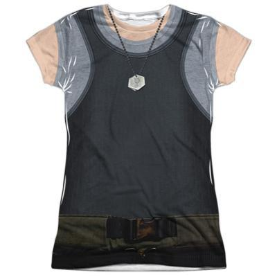 Juniors: Battle Star Galactica- Uniform Costume Tee
