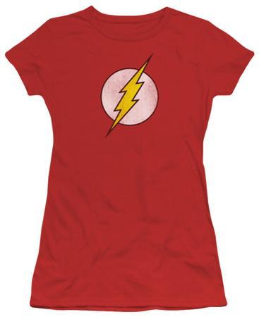 Juniors: DC Comics - The Flash Logo - Distressed