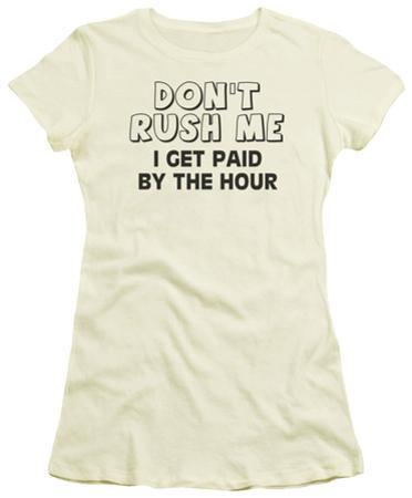 Juniors: Don't Rush Me