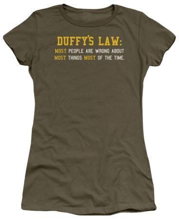 Juniors: Duffy's Law