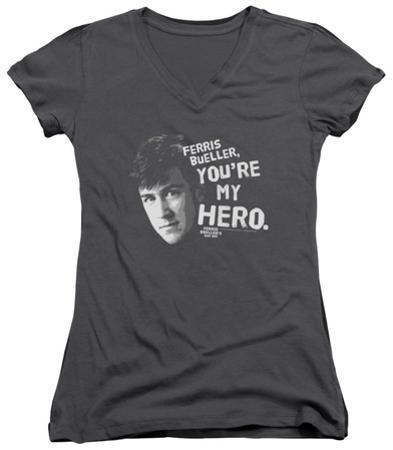 Juniors: Ferris Bueller's Day Off - My Hero V-Neck
