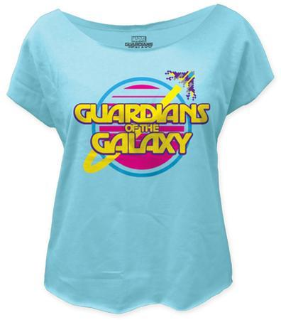 Juniors: Guardians of the Galaxy - Retro Logo (dolman)