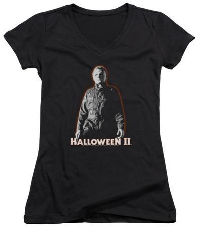 Juniors: Halloween II - Michael Myers V-Neck