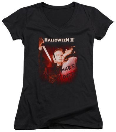 Juniors: Halloween II - Nightmare V-Neck