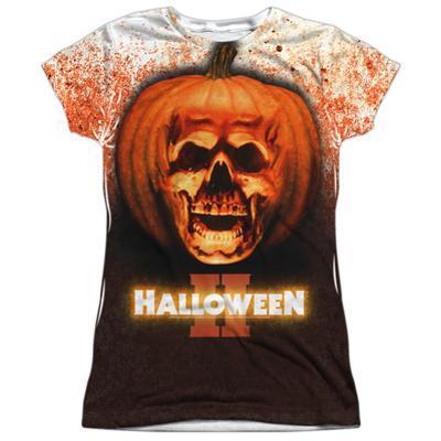 Juniors: Halloween II - Pumpkin Skull