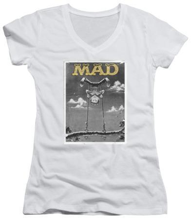 Juniors: Mad Magazine - Swinger V-Neck