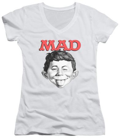 Juniors: Mad Magazine - U Mad V-Neck