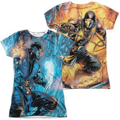 Juniors: Mortal Kombat- Sub Zero Vs. Scorpion (Front/Back)