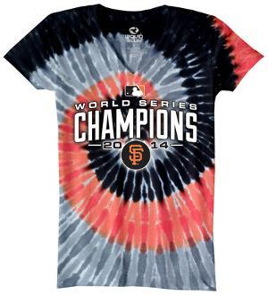 Juniors: NFL: San Francisco Giants - 2014 World Series Champions Spiral Dye
