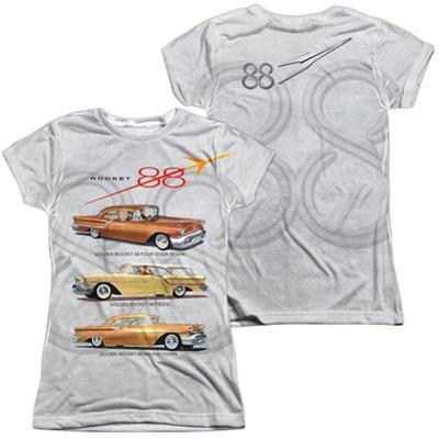 Juniors: Oldsmobile- Delta 88 Golden Rockets (Front/Back)