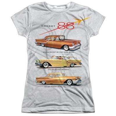 Juniors: Oldsmobile- Delta 88 Golden Rockets