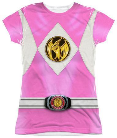 Juniors: Power Rangers - Pink Ranger Emblem