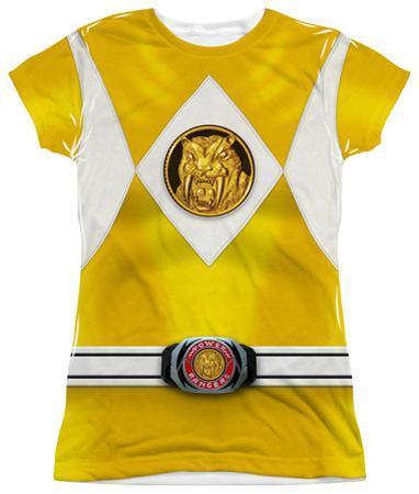 Juniors: Power Rangers - Yellow Ranger Emblem