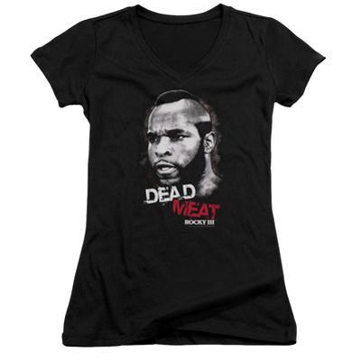 Juniors: Rocky III - Dead Meat V-Neck