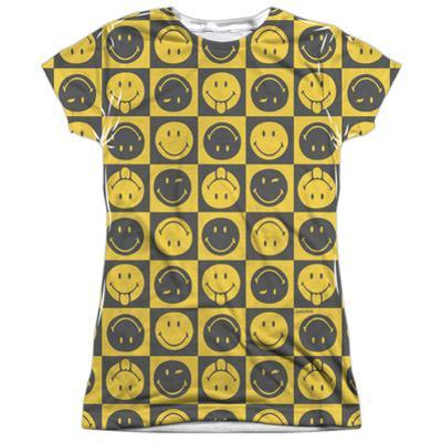 Juniors: Smiley World- Checkerboard Smiley