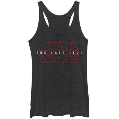 Juniors: Star Wars: The Last Jedi - Logo Tank Top