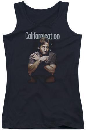 Juniors Tank Top: Californication - Smoking