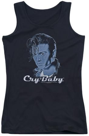 Juniors Tank Top: Cry Baby - King Cry Baby