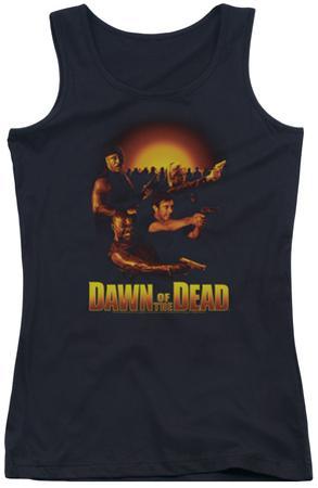 Juniors Tank Top: Dawn Of The Dead - Dawn Collage