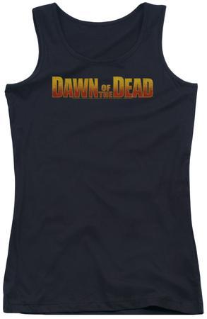 Juniors Tank Top: Dawn Of The Dead - Dawn Logo