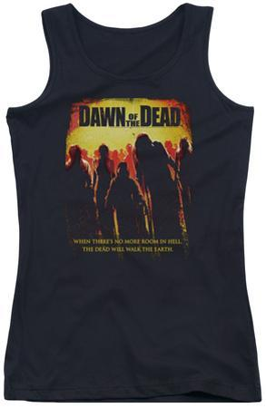 Juniors Tank Top: Dawn Of The Dead - Title