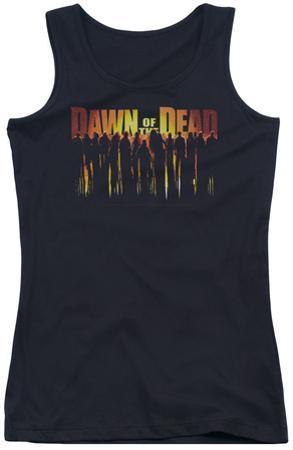 Juniors Tank Top: Dawn Of The Dead - Walking Dead