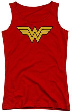 Juniors Tank Top: DC Comics - Wonder Woman Logo