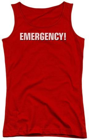 Juniors Tank Top: Emergency - Logo