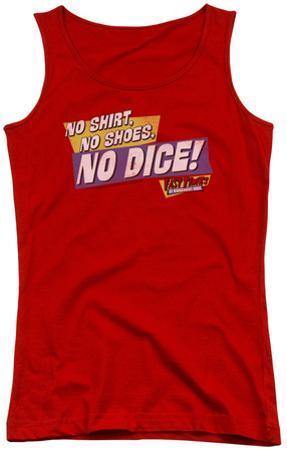 Juniors Tank Top: Fast Times Ridgemont High - No Dice