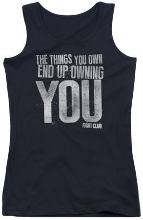 Juniors Tank Top: Fight Club - Owning You