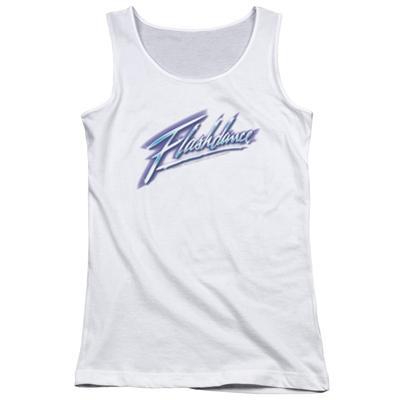 Juniors Tank Top: Flashdance - Logo