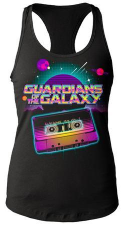 Juniors Tank Top: Guardians Of The Galaxy- Awesome Mix Tape