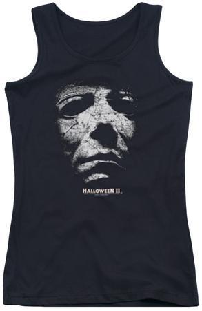Juniors Tank Top: Halloween II - Mask