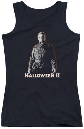 Juniors Tank Top: Halloween II - Michael Myers